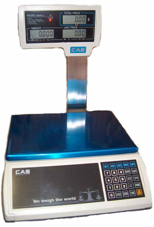 CAS S-2000 JR Price Computing Scales