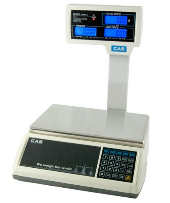 Frozen Yogurt Scale LCD Scale With Pole Display